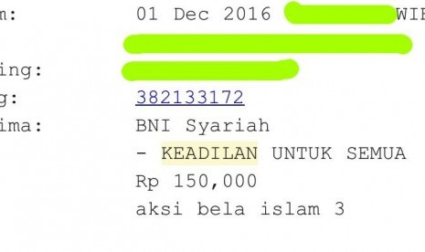 Money In The Bank Account Of Yayasan Keadilan Untuk Semua Is Legal Gnpf Republika Online