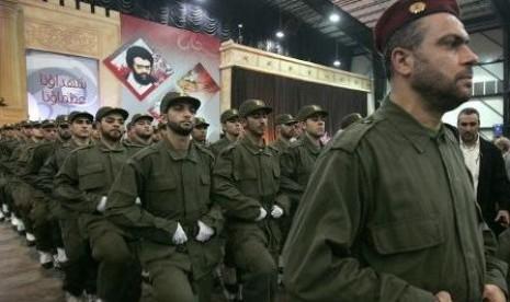 Hizbullah, sayap militer yang berhasil mengusir Israel dari Lebanon pada 2006 silam.