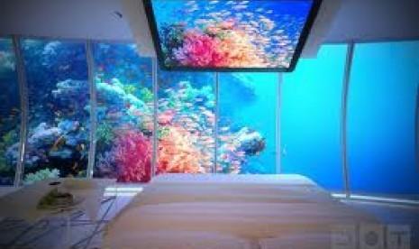 Wow, Hotel Ini Ada di Bawah Laut!