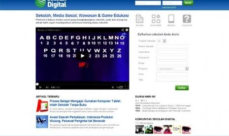laman sekolah digital