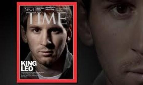 Messi Masuk Nominasi 100 Tokoh Berpengaruh Majalah TIME