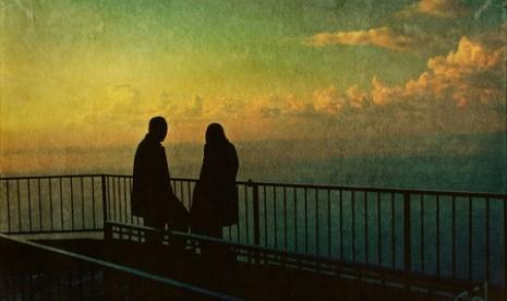 Pasangarn suami istri (ilustrasi).