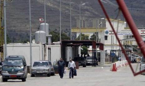 Perbatasan Suriah Lebanon