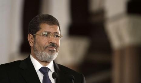 Presiden  Mesir Muhammad Mursi