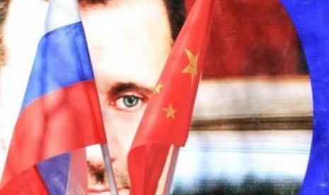 Rusia dan Cina menjadi pendukung bagi pemerintahan Bashar al Assad, Suriah. (ilustrasi)