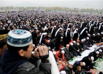 Muslim Cina Rayakan Idul Adha Senin Ini