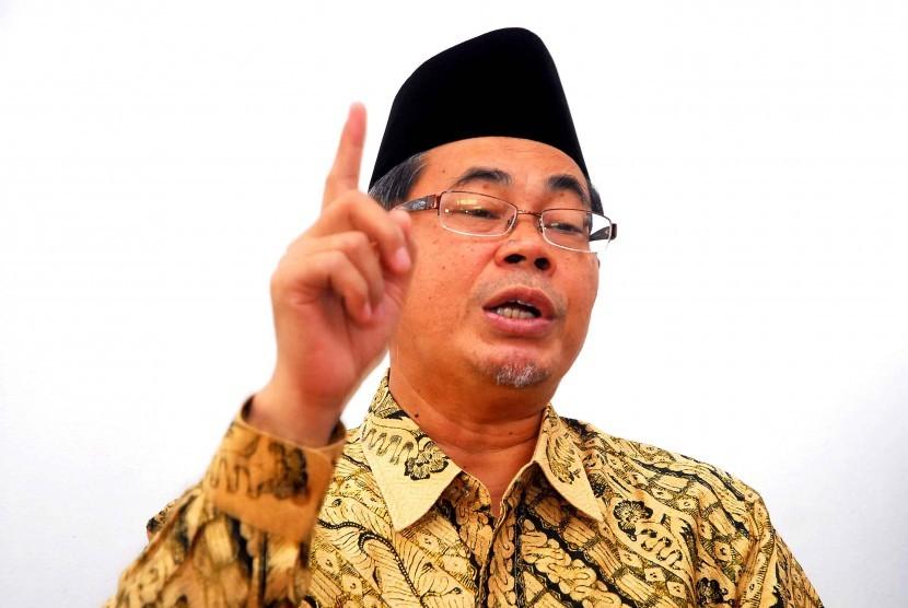 Ahmad Satori Ismail  Ketua Ikatan dai Indonesia