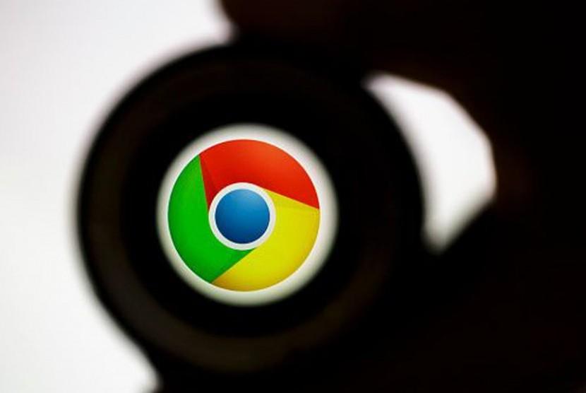 Google Chrome. Ilustrasi