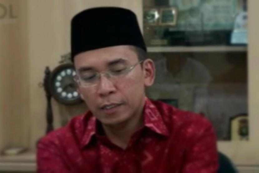 Gubernur NTB, Dr. K.H. TGH. M Zainul Majdi, M.A