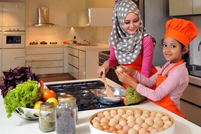 Image result for masak sama anak