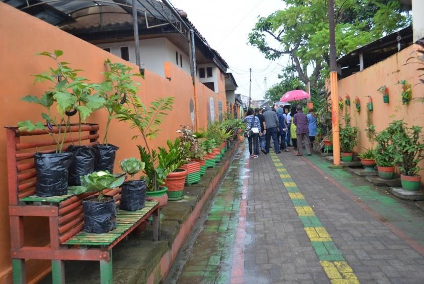 Lorong Indah Itu Bernama Lorong Garden Makassar