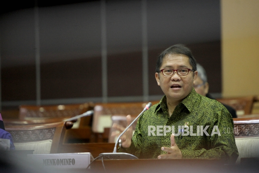 Menteri Komunikasi dan Informatika, Rudiantara  (ilustrasi)