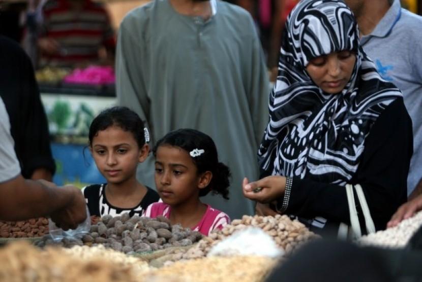 Muslim Palestina (Ilustrasi)