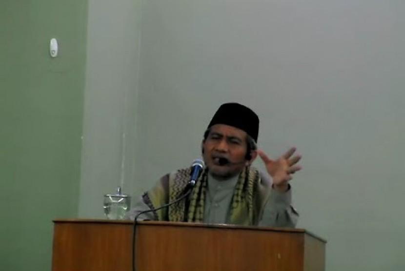pakar tafsir Alquran Prof M Ahsin Sakho Muhammad