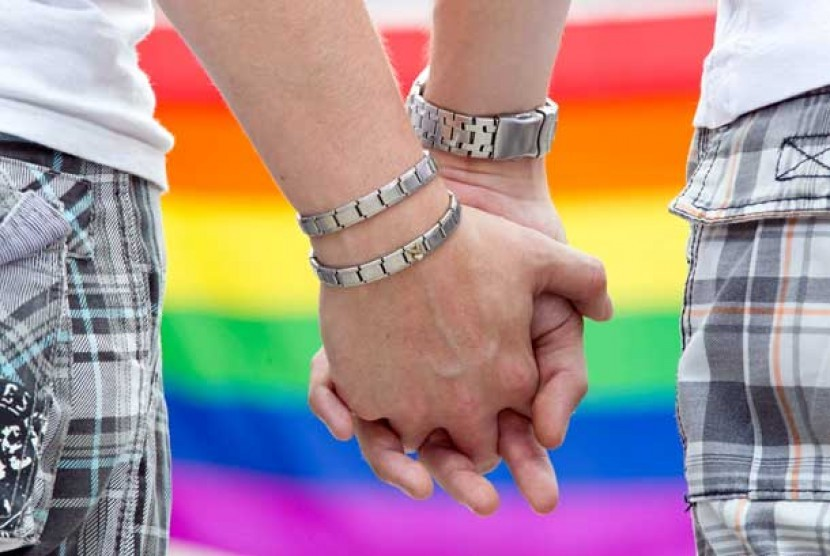Pasangan sejenis. (ilustrasi)