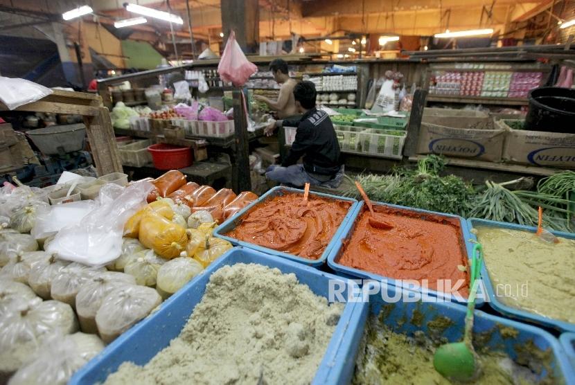 Pedagang pasar (ilustrasi)