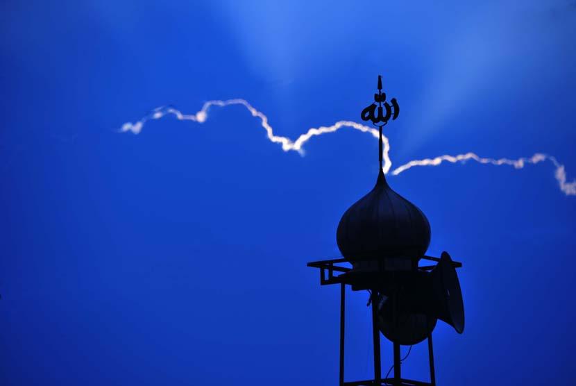Pengeras Suara Masjid (ilustrasi).