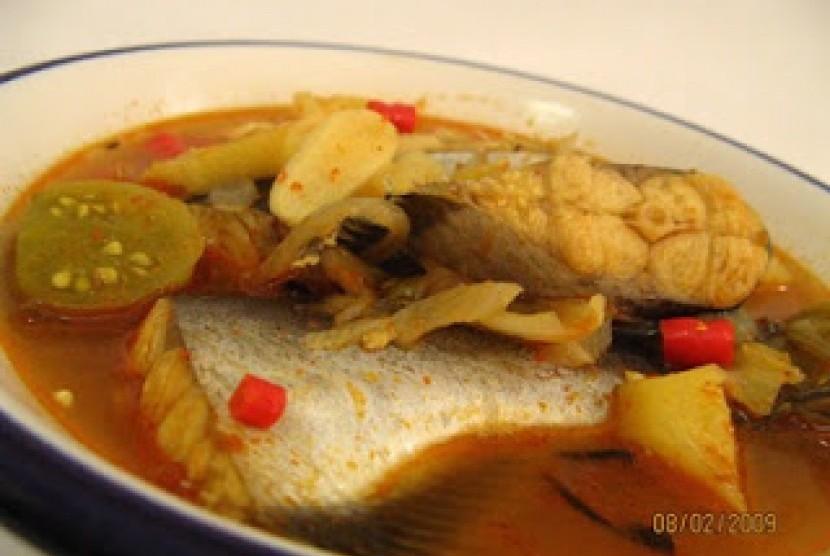 resepi ikan tenggiri masak asam cuka resep masakan khas Resepi Ikan Tenggiri Jeruk Enak dan Mudah