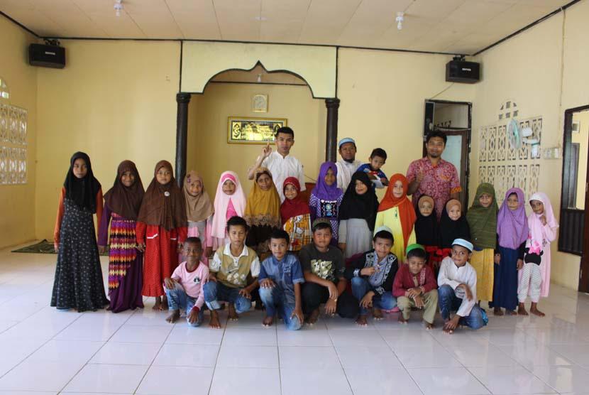 Salah satu kegiatan pendidikan dan dakwah BMH di Timika, Papua.