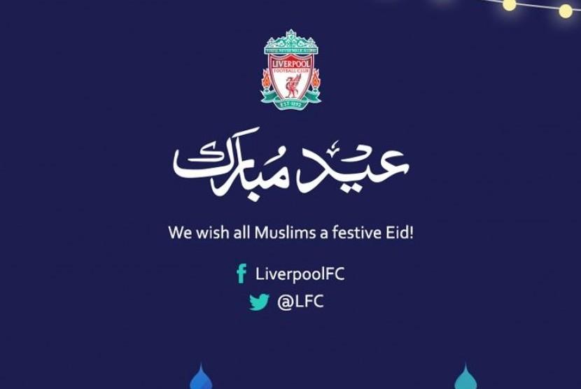 Ucapan Selamat Idul Fitri Liverpool Di Retweet 10 Ribu Tweeps
