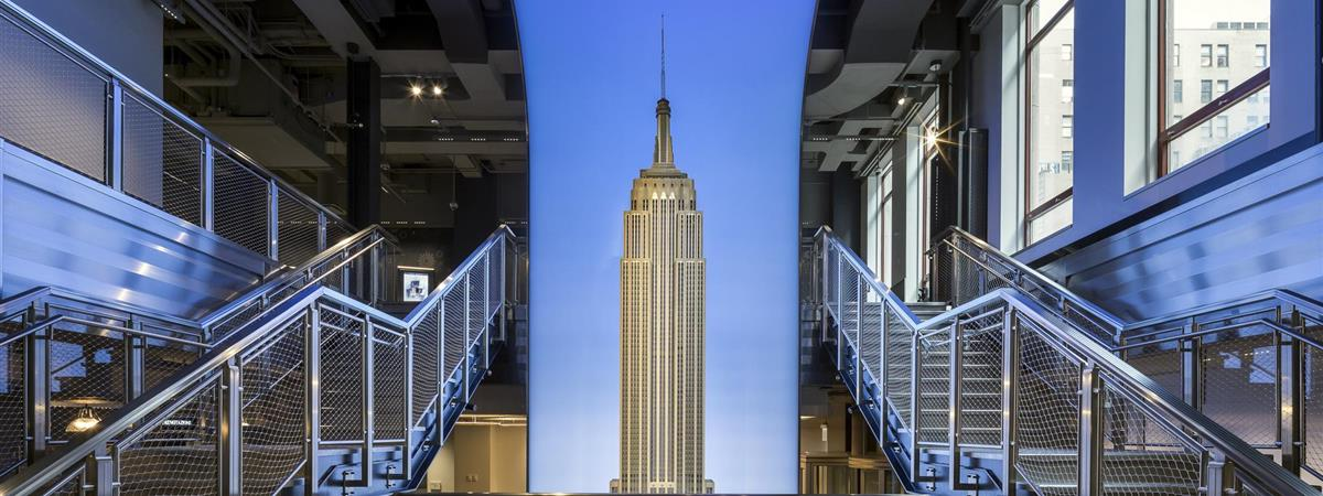 Image result for The Empire State Building, New York City,