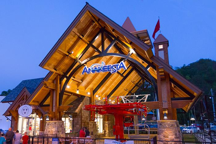 Anakeesta Gatlinburg  Chondola Zipline Mountain Coaster