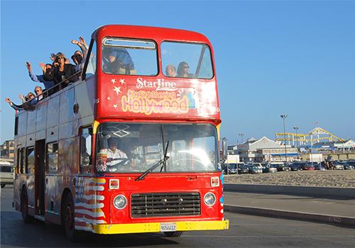 Hop On Hop Off Double Decker Bus Tour Los Angeles CA