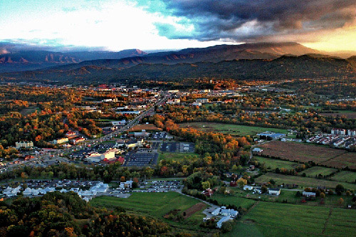 Fall In The Smoky Mountains Wallpaper Scenic Helicopter Tours Pigeon Forge Tn Smokies