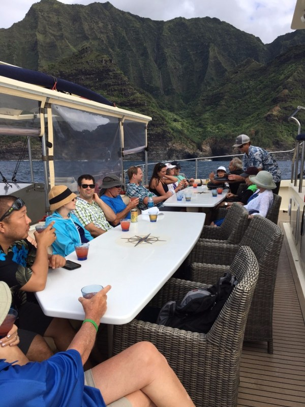 Captain Andy' Southern Star Na Pali Sunset Dinner Cruise