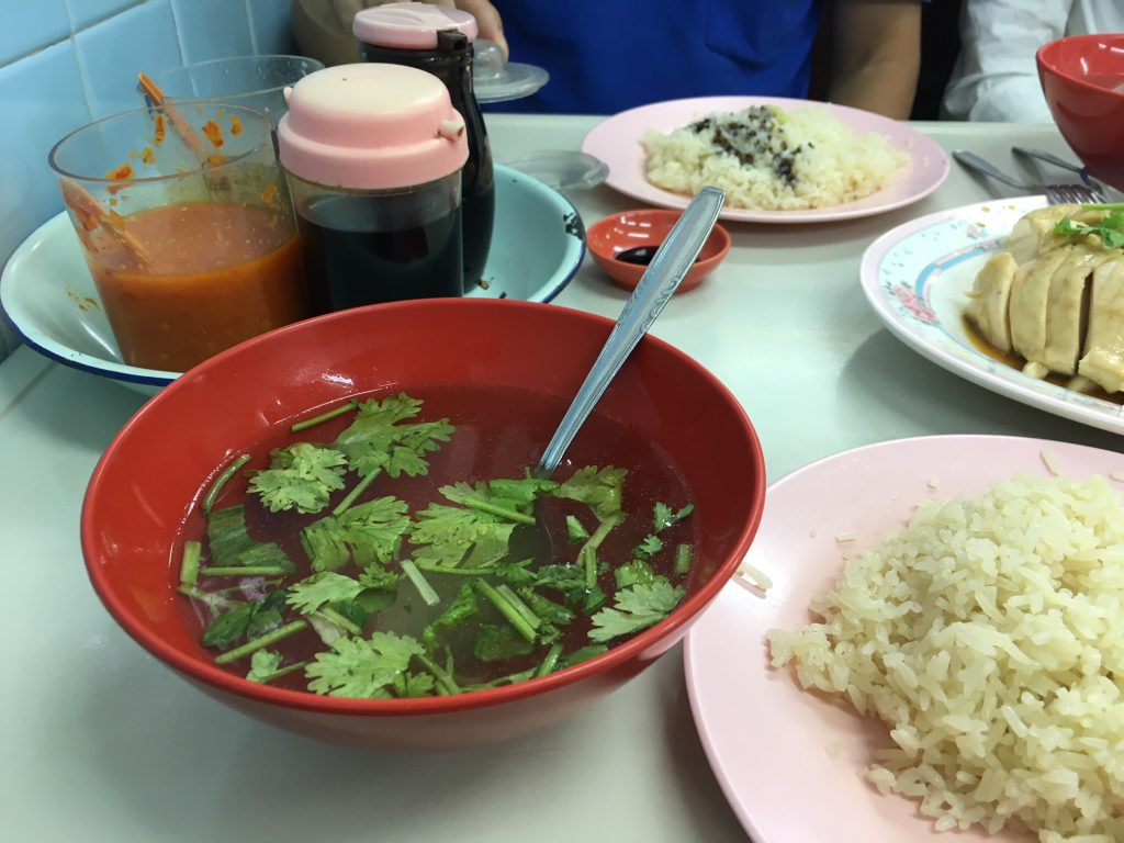As Penance for Our Last Story. We Found Singapore's Best Chicken Rice Soup