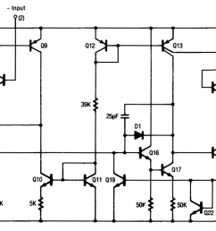 circuit diagram of 741 op amp wiring diagram noteunderstanding silicon circuits inside the ubiquitous 741 op [ 1416 x 744 Pixel ]