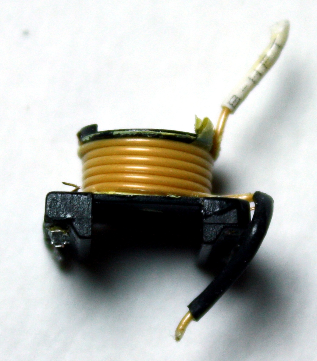 hight resolution of secondary output winding from iphone charger flyback transformer