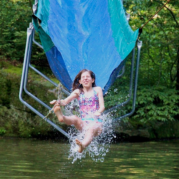 In and On the Water  Rockbrook Summer Camp for Girls