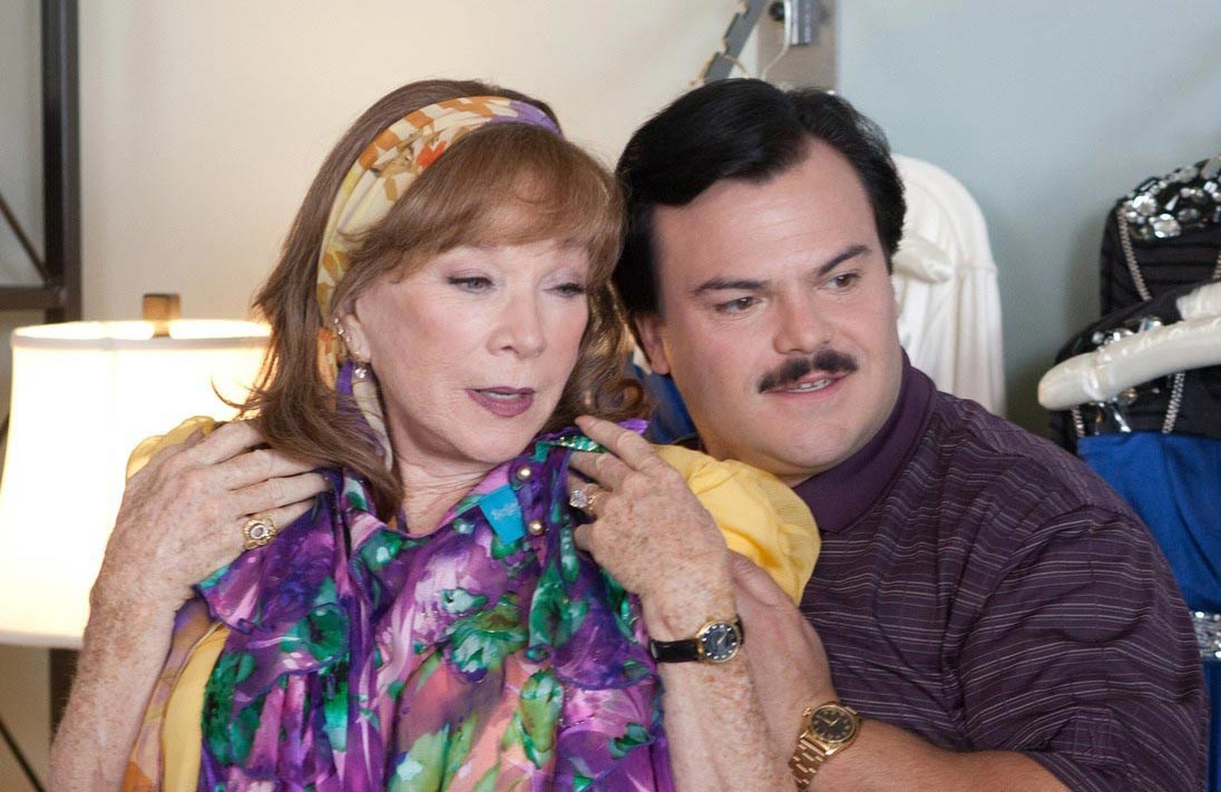 Jack Black and Shirley MacLaine