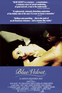 Widget blue velvet poster