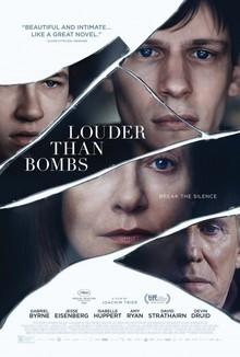 Widget louder than bombs poster 2016