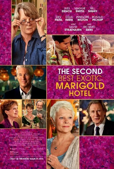 The Second Best Exotic Marigold Hotel Movie Review (2015) | Roger Ebert