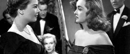 Image result for anne baxter and bette davis in all about eve