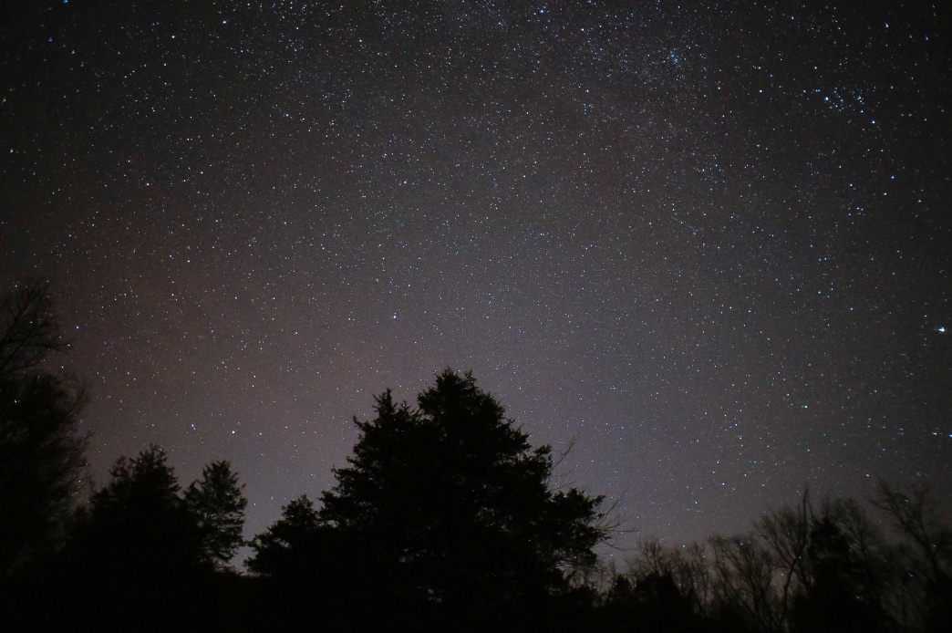 Many Alabama areas offer broad views of the night sky and little light pollution. Andrew Jenkins
