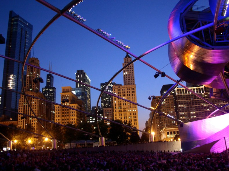 Millennium Park Series, Chicago, Illinois.