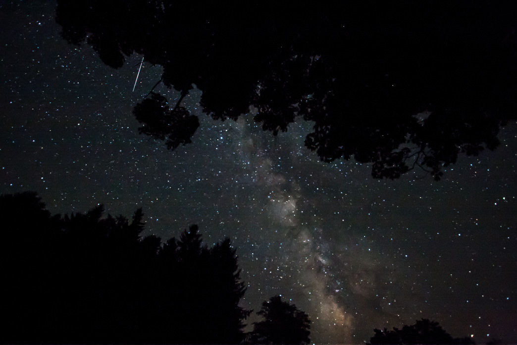 Cherry Springs State Park is one of the best places on the East Coast for star gazing and Santa spotting.