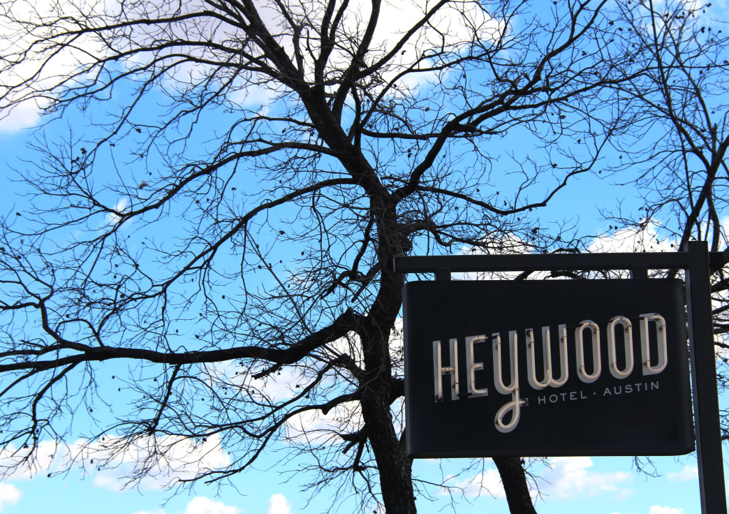 The boutique Heywood Hotel is within walking distance to restaurants, shops, and nightlife.