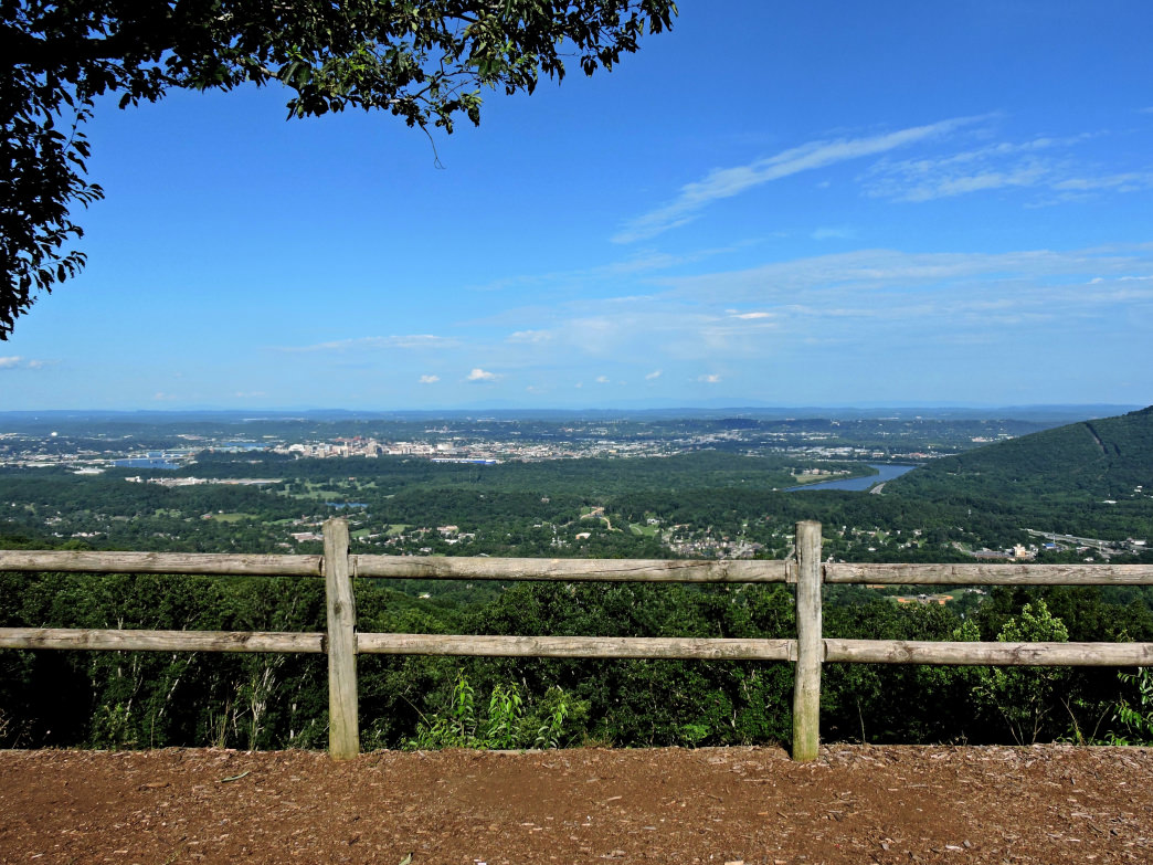 Chattanooga is our first stop of this trip and. Raccoon Mountain Trail Running