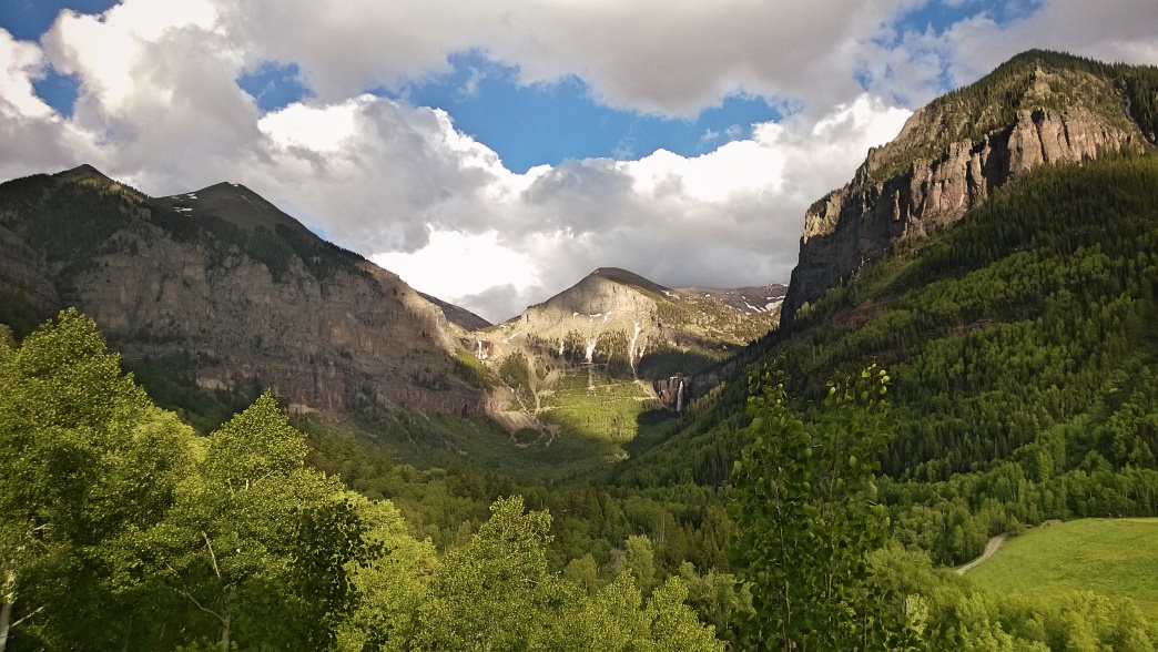 Beautiful views await in Telluride, Colorado.