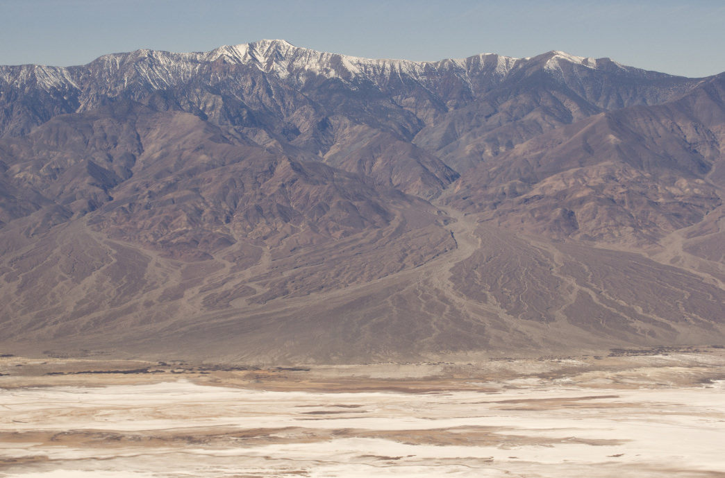Telescope Peak towers above Death Valley National Park
