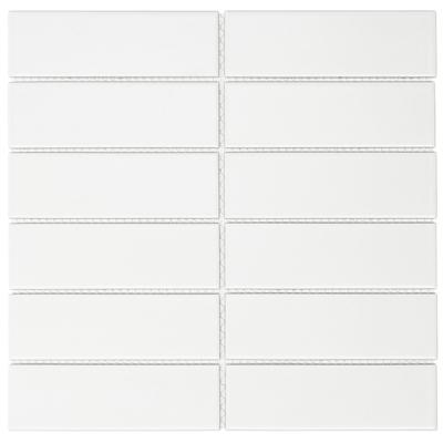 carrelage mosaique blanc sawiday