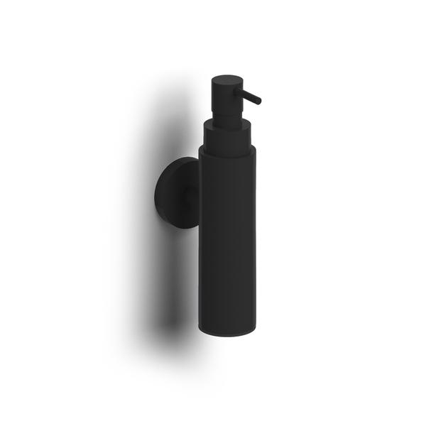 clou sjokker distributeur savon 100cc modele mural noir mat