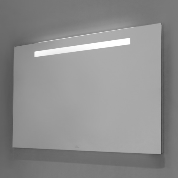 Villeroy Boch More To See Miroir Avec Eclairage Led Integre Horizontal 130x60x3cm Diminuer A 3 Etapes A4301300 Sawiday Fr