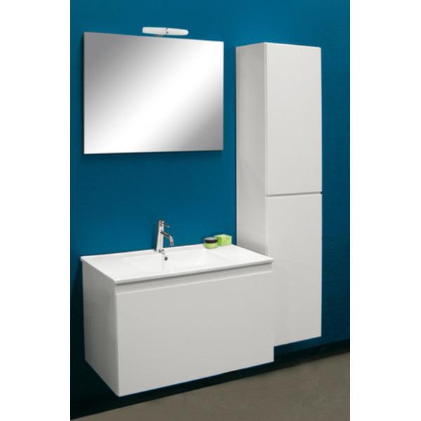 Nemo Go Joelle Meuble Avec Miroir 60x46cm Avec 1 Tiroir Vasque Et Eclairage Blanc Sku 926625 Sawiday Fr