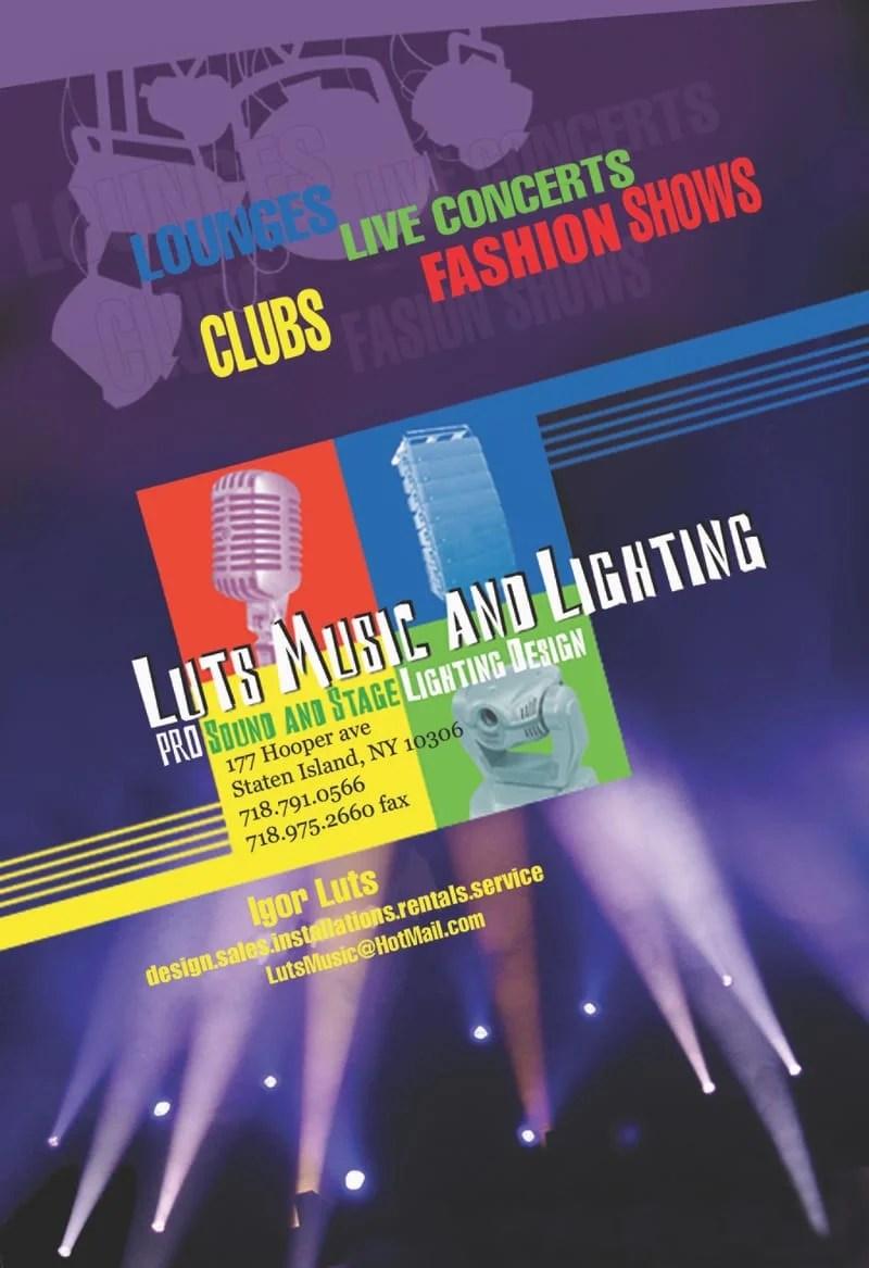 luts music pro sound stage lighting